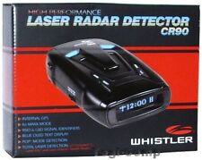 Whistler CR90 Laser Radar Detector w/ GPS + OLED Text Display