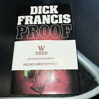 Dick Francis Proof Signed First Edition Hardback Book