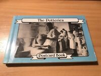THE POTTERIES - STOKE ON TRENT - POSTCARD BOOK - (21 POSTCARDS) - EXCELLENT