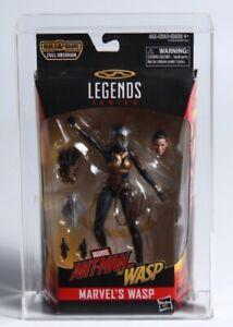 Marvel Legends Wasp Action Figure signed by Evangeline Lilly CAS Graded 85 JSA