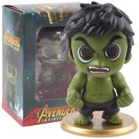 Marvel Avengers Infinity War Hulk Bobble Head PVC Figure Car Home Decoration