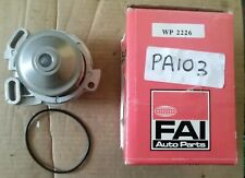 Audi 80 90 100 200 Quattro Coupe VW Santana Passat Water Pump FAI WP2226