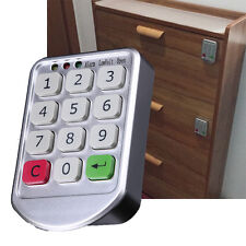 US Keyless Electronic Code Digital Password Keypad Security Cabinet Smart Lock