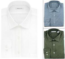 """Mens Shirt Van Heusen Regular Fit Stretch Cotton Shorter Length 33"""" Long Sleeve"""