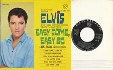 "Elvis Presley EP deutsche RCA EPA-4387 ""Easy Come, Easy Go"" different RCA Logo"
