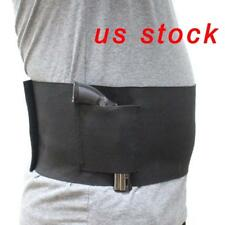 US STOCK 38-48 inch Concealed Carry Belly Band Pistol Holster Band Gun Holster