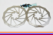 AVID Polygon MTB Bike Mountain Bicycle IS 6-Bolt Disc Brake Rotor 160mm -Pair