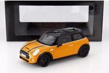 Mini Cooper S (F56) Volcanic Orange 1/18 Norev Dealer Release US Seller