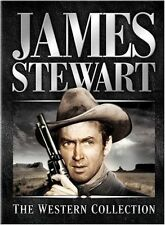 James Stewart : THE WESTERN COLLECTION box set. USA region 1. New sealed DVD.