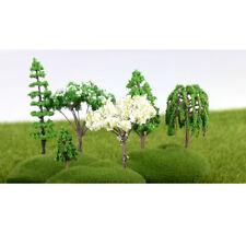 5pcs Miniature Pear Tree Garden Ornament Figurine Fairy Craft Decor Gift
