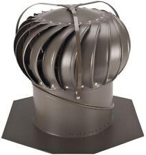 Whirlybird 12 In. Weathered Bronze Aluminum Externally Braced Wind Turbine