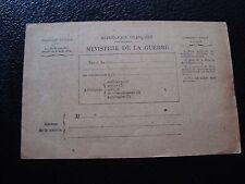 FRANCE - carte militaire en franchise (B11) french
