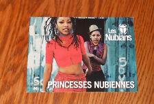 Les Nubians Princesses Nubiennes Postcard Promo 6x4