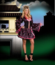 f87d83fd1 Adult Halloween Dreamgirl Tokyo Treasure Geisha Girl Costume Cosplay XS