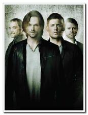 Supernatural Full Cast Jensen Ackles 12x16 inch TV Shows Silk Poster