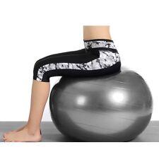 "Yoga Ball 25"" 65cm Exercise Gymnastic Fitness Pilates Stability Balance /Air Pum"