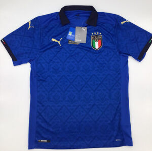 Italy Home Jersey 2020 Blue Puma M-L-XL New with Tags