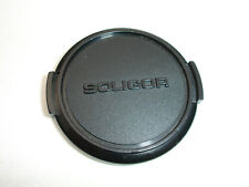 SOLIGOR 49mm plastic front lens cap , all black   , Japan