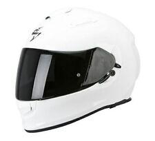 Casques blancs brillants Scorpion taille S pour véhicule