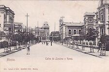 MEXICO - Mexico City - Calles de Londres y Roma