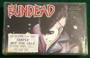 THE UNDEAD ~ Act Your Rage US 1989 Post Mortem Cassette Tape Bobby Steel Misfits