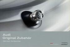 Audi Zubehör Prospekt 2010 5/10 Autoprospekt brochure accessoires accessories