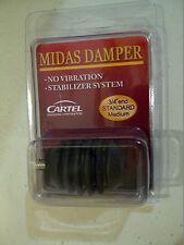 Cartel Midas Rubber Damper - Black
