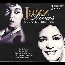 Jazz Divas [Boxsets 1998] [Box] by Sarah Vaughan/Billie Holiday (CD, Apr-2007, 2