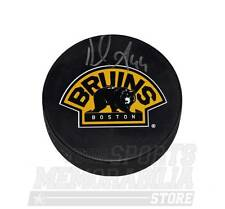 Dennis Seidenberg Boston Bruins Signed Autographed Alternate Logo Hockey Puck