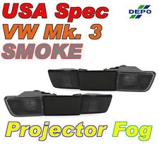 DEPO Smoke Projector Fog Lights For 1993-1999 Volkswagen Jetta / Golf / GTI Mk.3