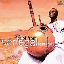 Pape Kanoute-Griot From Senegal CD NEW