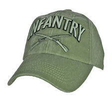 c411f3818aa U.S. Army Infantry Hat   OD Green Baseball Cap