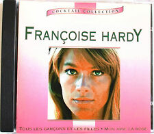 """FRANÇOISE HARDY - RARE CD """"COCKTAIL COLLECTION"""""""