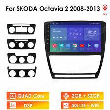 "Android10.1"" Car GPS Stereo DSP Radio For Skoda Octavia 2008-2013 2+32GB WiFi 4G"