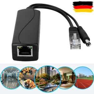 48V bis 12V POE-Anschlüsse Adapterkabel Splitter Injektor für Huawei Hikvision