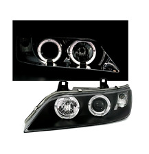 2 FEUX PHARE AVANT ANGEL EYES LED BMW Z3 NOIR COUPE ET ROADSTER DE 1995 A 2003