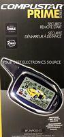 NEW Firstech / Compustar RF-2W9000-SS LCD 2-Way Remote Start Key-Fob Kit