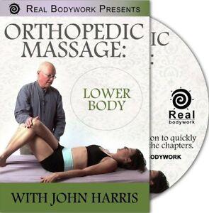 Orthopedic Medical & Sports Massage - Lower Body - DVD - JOHN HARRIS - 2.5 HOURS