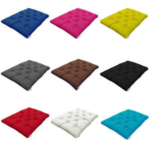 MyLayabout Foam Crumb Futon Mattress | Roll Out Spare Guest Bed | 9 Colours