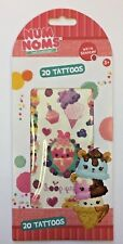 20 (1 sheet) Num Noms scented temporary tattoos party favors loot bags goody
