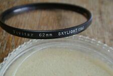 Vintage Vivitar 62mm Skylight 1A VERY NICE