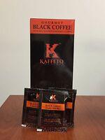 Ganoderma Lucidum Coffee- Kaffeto Gourmet Ganoderma Black Coffee 25 Sachets