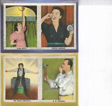 2 POSTCARDS1940 Golden Gate Expo/GGIE,EDNA PRICE ZORITA LAMBERT,GRAVITYO,HUBBARD