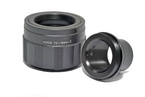 3.2cm Telescopio Adaptador Montaje & Nikon Z T2 Montaje