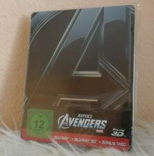 The Avengers 3d 2d Erstausgabe 3 Disk Blu Ray Steelbook
