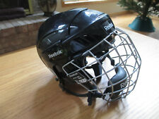 REEBOK 3K HOCKEY HELMET + 5K MASK - XS EXTRA SMALL + CROSBY GLOVES