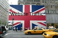 Send actual 7,5k UK based keyword targeted Search Engine traffic