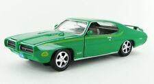 PONTIAC GTO JUDGE 1969 1:24 Scale Diecast Car Model Die Cast Miniature Green