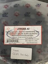 JT Carbon Steel Rear Sprocket For Honda CG125 2001-2003 Models 42T
