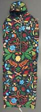 "Poler Outdoor Stuff ""Camp Vibes"" Abstract Floral Wearable Sleeping Bag Size M"